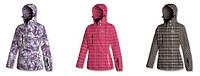 Цветная женская зимняя куртка BRUGI