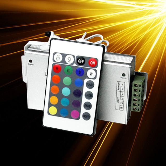 Контроллеры, блоки питания и комплектующие для светодиодной ленты