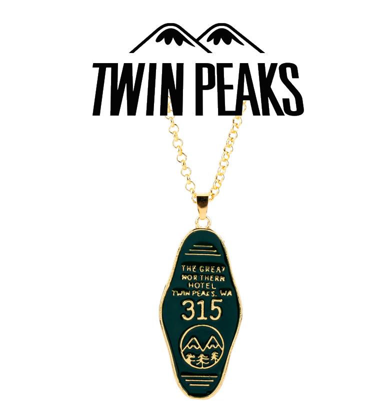 Кулон для ключей Твин Пикс / Twin Peaks