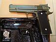 Страйкбольный пістолет Браунінг G. 20G Green (Browning HP), фото 2