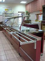 Линия раздачи для предприятий общественного питания (кафе,рестораны)