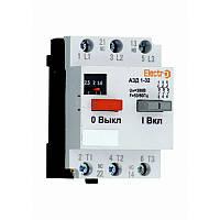 Автоматический выключатель защиты двигателя АЗД 1-32 3 полюса  1А - 1,6A 380В с дополнительными контактами