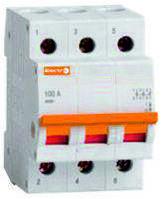 Выключатель нагрузки ВН1-32 3 полюса100A 230B/400B / Вимикач навантаження ВН1-32 3 полюс 100A 230B