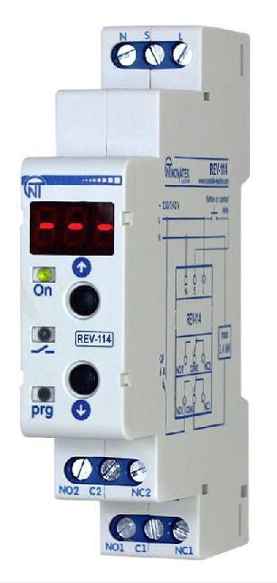 Реле времени  одномодульное,  17 программ    РЭВ – 114  REV-114
