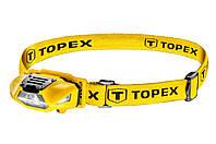 Фонарь налобный Topex - 3 LED x 1 Вт x 1AA | 94W390