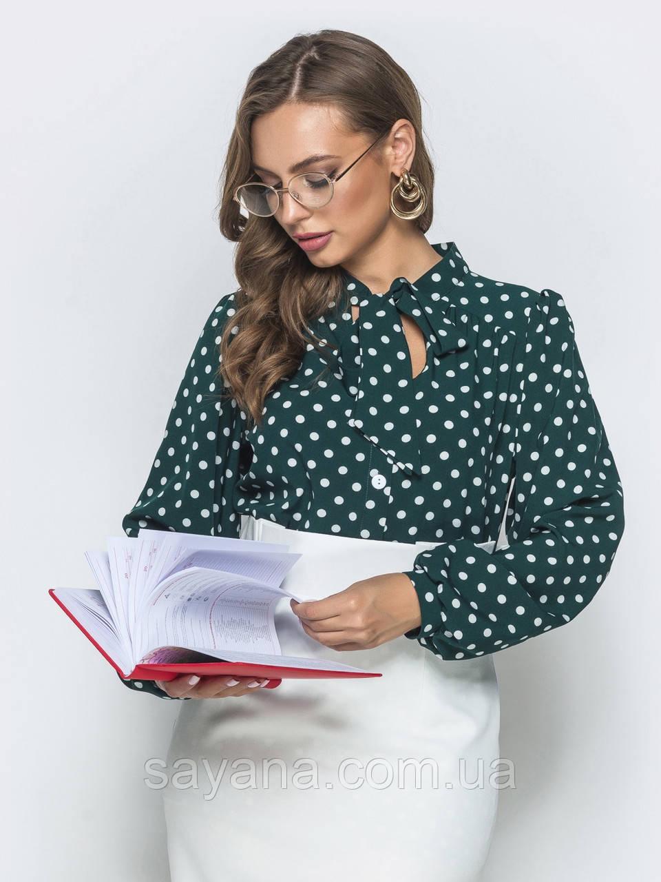 Женская блуза, в расцветках, р-р 48-52. ЛП-9-1-0819(731)