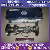 Вал промежуточный КПП ГАЗ 31029 5-ст. без подш. (пр-во ГАЗ) (арт. 3110-1701310)