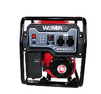 Генератор бензиновый инверторный WEIMA WM4000i (4 кВт, инверторный, 1 фаза, ручной старт), фото 1