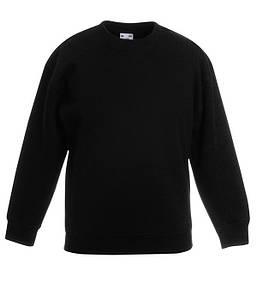 Детский пуловер Черный 116 см