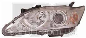 Фара левая электро D4S+НВ3 (ксенон) для Toyota Camry 50 2011-14