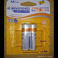 Аккумулятор NH-AA2700 ES (blister 2)/Акумулятор ENERGY START NH-AA2700 ES (blister 2)