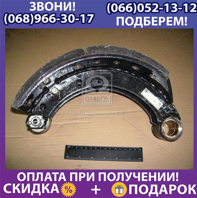 Колодка тормозная МАЗ 4370 задняя левая с накладкой (пр-во ТАиМ) (арт. 4370-3502091)