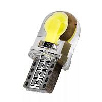 LED лампы в габариты и повторителя поворота w5w T10 (Пара)