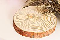 Спил сосны 21-25 см