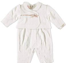 Комплект на выписку для девочки Одежда для девочек 0-2 BRUMS Италия 163BCFU003