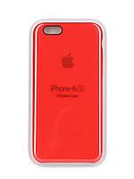 Накладка Apple Silicone Case iPhone 6 6S HC Red Красный