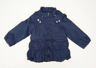 Детская ветровка для девочки Одежда для девочек 0-2 Melby Италия 71031432 Синий весенняя осенняя демисезонная