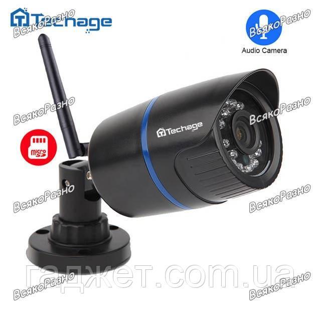 WiFi IP камера Techage. Уличная Wi Fi IP камера Techage разрешение 720P. YOOSEE