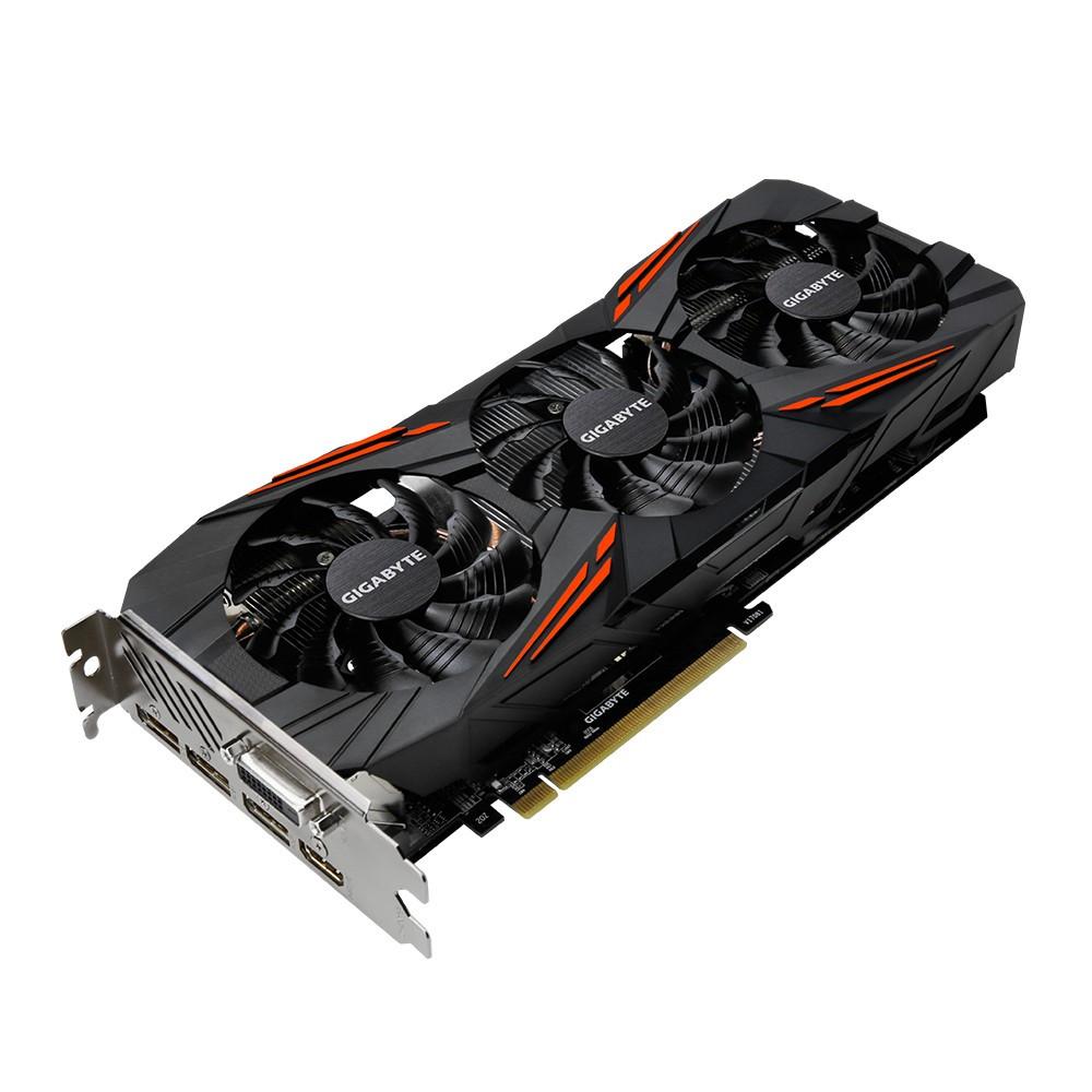 "Видеокарта GIGABYTE GeForce GTX 1070 Ti Gaming 8G (GV-N107TGAMING-8GD) GDDR5 ""Over-Stock"" Б/У"