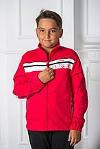Детский спортивный костюм для мальчика BRUGI Италия JP4F Красный весенний осенний демисезонный