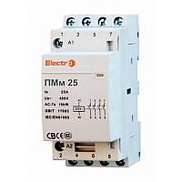 Модульний контактор ПМм  4 полюси 32A    3NO+1NC    400В  ElectrO (шт.)