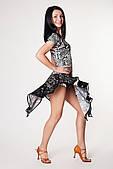 Сукня латина PLT730749101 Рафаелла (36, пітон чорний, чорний)