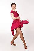 Сукня латина PLT730722 Рафаелла (30, малиновий)