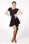 Сукня латина PLT730701 Рафаелла (46, чорний)