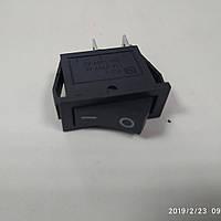 Переключатель 1 клав .(черный ) KCD3-101 B/B 1 клав. черный/ Перемикач 1 клав. чорнийKCD3-101 B/B, фото 1