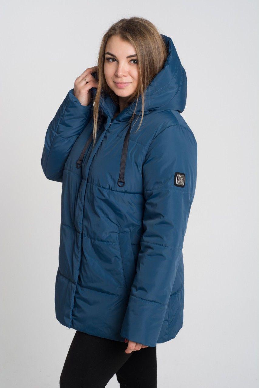 Демисезонная куртка больших размеров К 0057 с 04