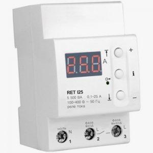 Реле контроля тока ZUBR RET I 63 с термозащитой