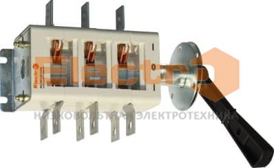 Рубильник ВР32 - 400А перекидной /Вимикач-роз'єднувач ВР32  (перекидний рубильник) з камерою 400А