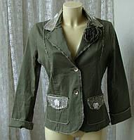 Пиджак женский жакет хлопок Франция бренд Nana Baila р.44-46