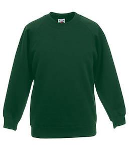 Детский реглан Темно-Зеленый, 104 см
