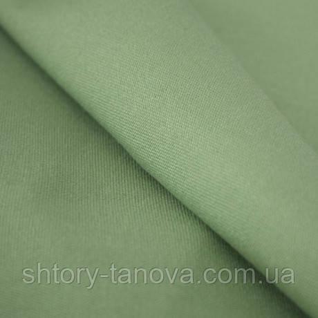 Дралон однотон. зелен.оливка тефлон
