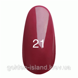 Гель лак Kodi № 21 (глибокий бордо з микроблеском ) 7 мл.