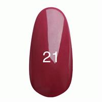 Гель лак Kodi № 21 (глубокий бордо с микроблеском ) 7 мл.