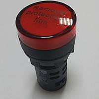 Светосигнальный индикатор AD22 (LED) матрица 22mm красная 48В АС/DC, фото 1