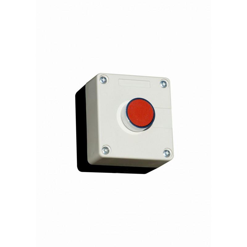 Пост кнопочный одноместный 10A 230/400B (красная N0+NC)