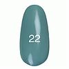 Гель лак Kodi № 22 (ніжно оливковий, емаль) 7 мл.