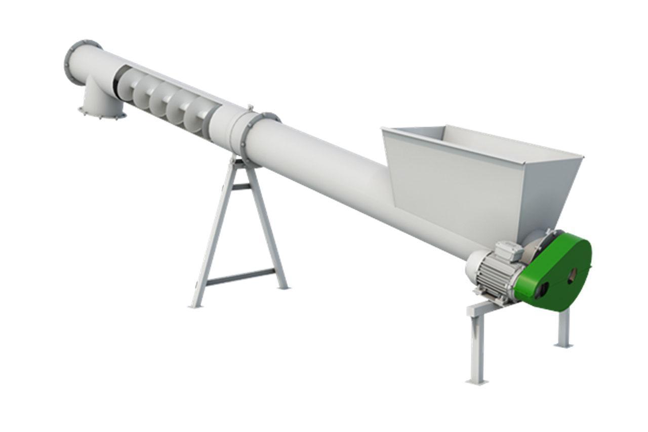 Шнековый транспортер (погрузчик) ШТ-200М