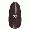 Гель лак Kodi № 23 (оливковый коричневый, эмаль) 7 мл.