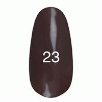 Гель лак Kodi № 23 (оливковий коричневий, емаль) 7 мл.