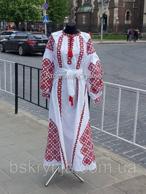 Сукня вишиванка БС-152с