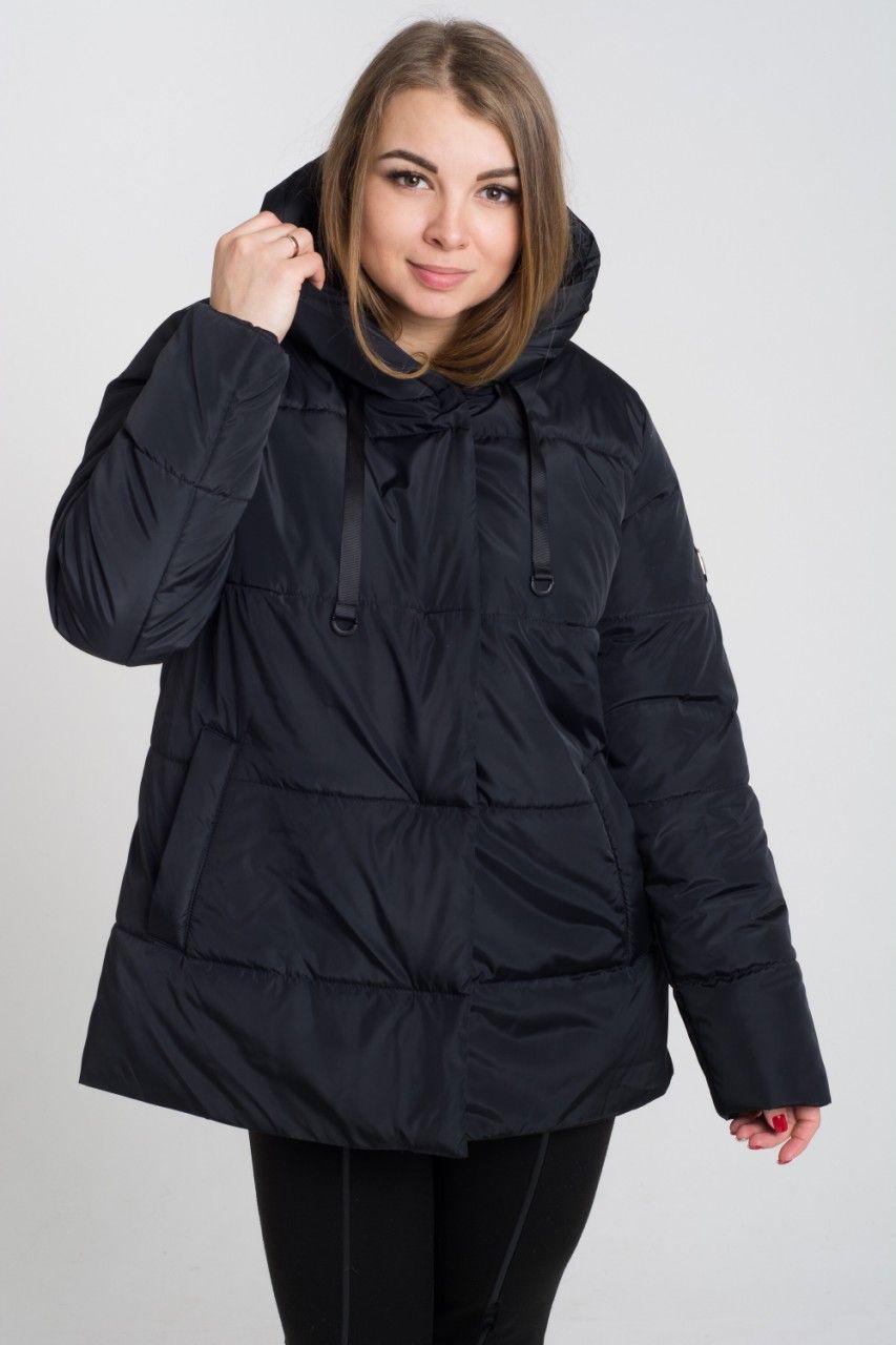 Демисезонная куртка больших размеров К 0057 с 01