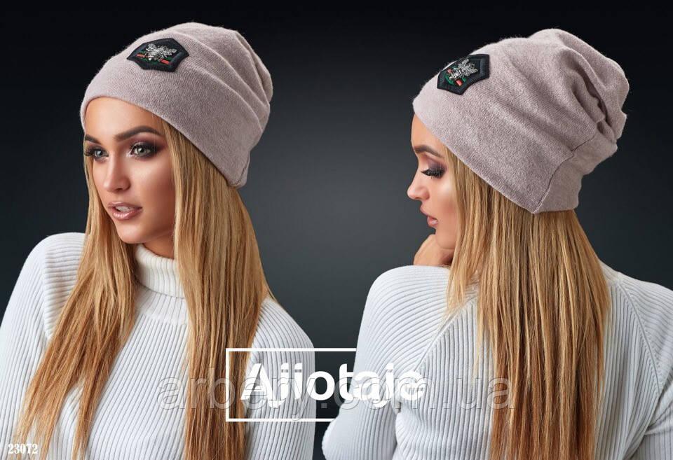 Женская ангоровая шапка Gucci
