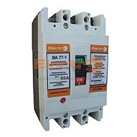 Автоматический выключатель ВА77-1-125 3 полюса 10А Icu 25кА 380В