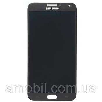 Дисплей Samsung Galaxy E7 E7000, Galaxy E7 E700 (E700F, E700H, E700M) Oled темно сірий