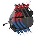 Опалювальна Конвекційна Піч Rud Pyrotron Максі [Тип 04] – 44 кВт (1250 м3), фото 3