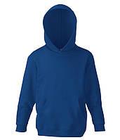 Детская толстовка с капюшоном Темно-Синий 140 см